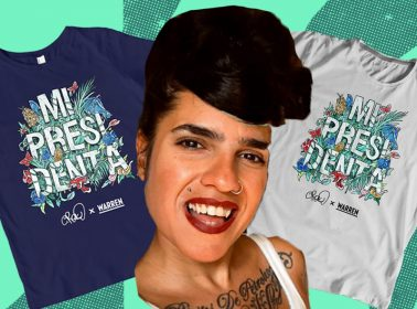 "Meet Cristy Road Carrera, The Cuban–American Artist Behind Elizabeth Warren's ""Mi Presidenta"" Merch"