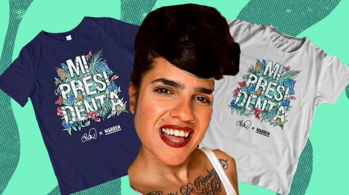 "Meet Cristy Road Carrera, The Cuban–American Artist Behind Elizabeth Warren's ""Mi Presidenta"" Merch"