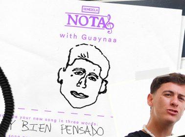 "NOTAS: Guaynaa's ""Rompe Rodillas"" & Favorite Karaoke Anthem"