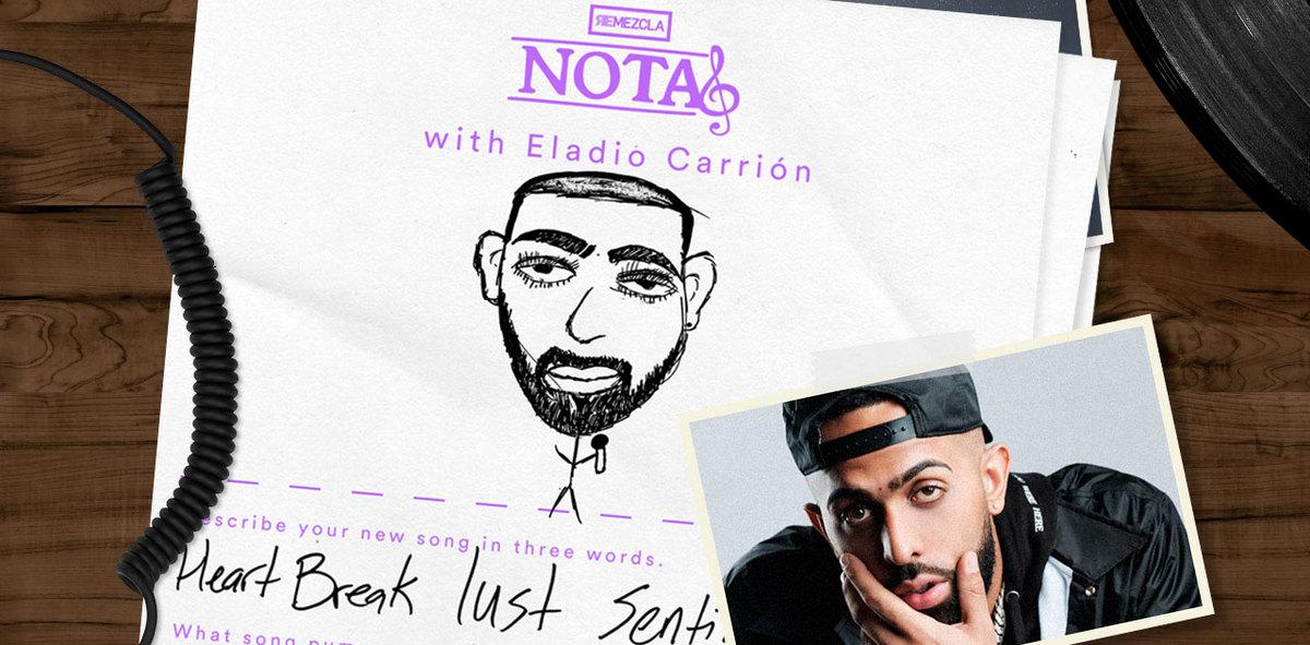 NOTAS: Eladio Carrión on Milkshakes, Lust & the Only Hangover Cure