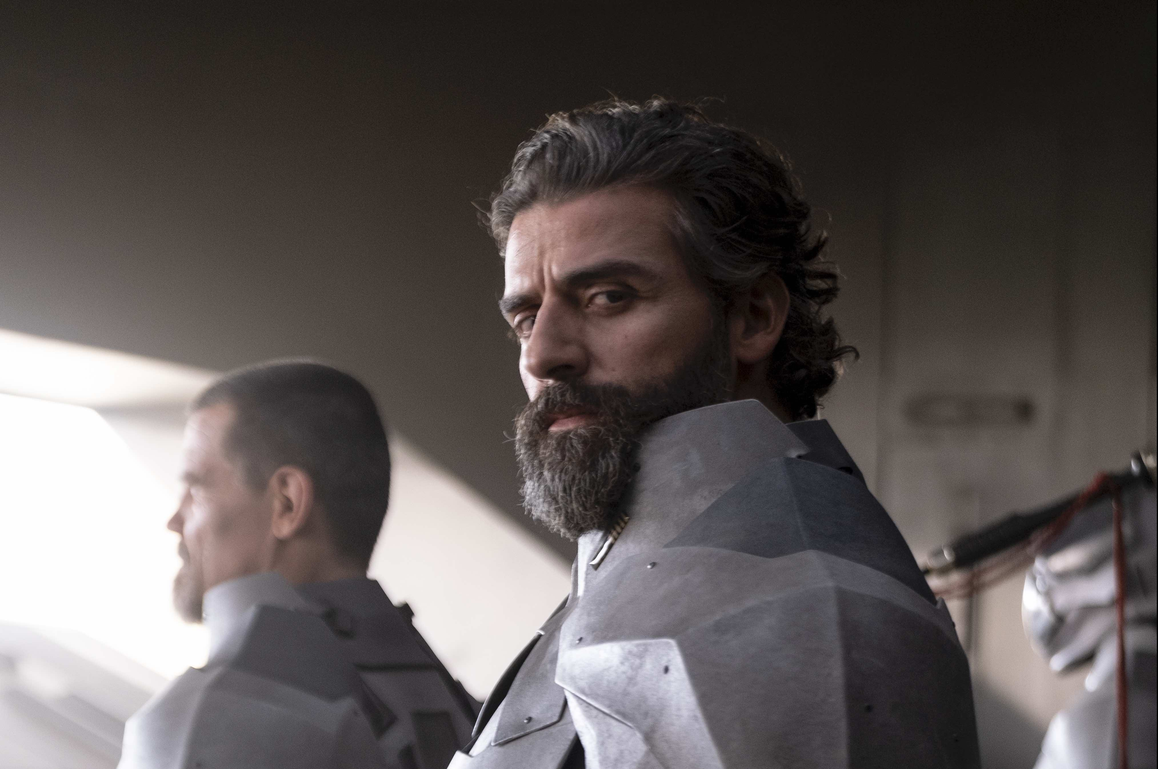 Oscar Isaac's Beard Pulls Focus in New Still Images From Denis Villeneuve's 'Dune' Adaptation