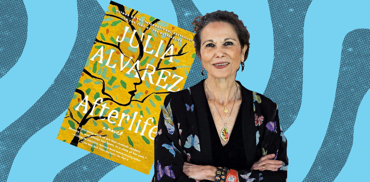 'Afterlife,' Julia Alvarez's First Novel in 15 Years, Explores Aging & Death