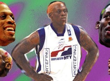Flashback to that Time Dennis Rodman Played with Fuerza Regia de Monterrey