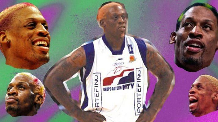 Flashback to that Time Dennis Rodman Played with Fuerza Regia de Monterrey