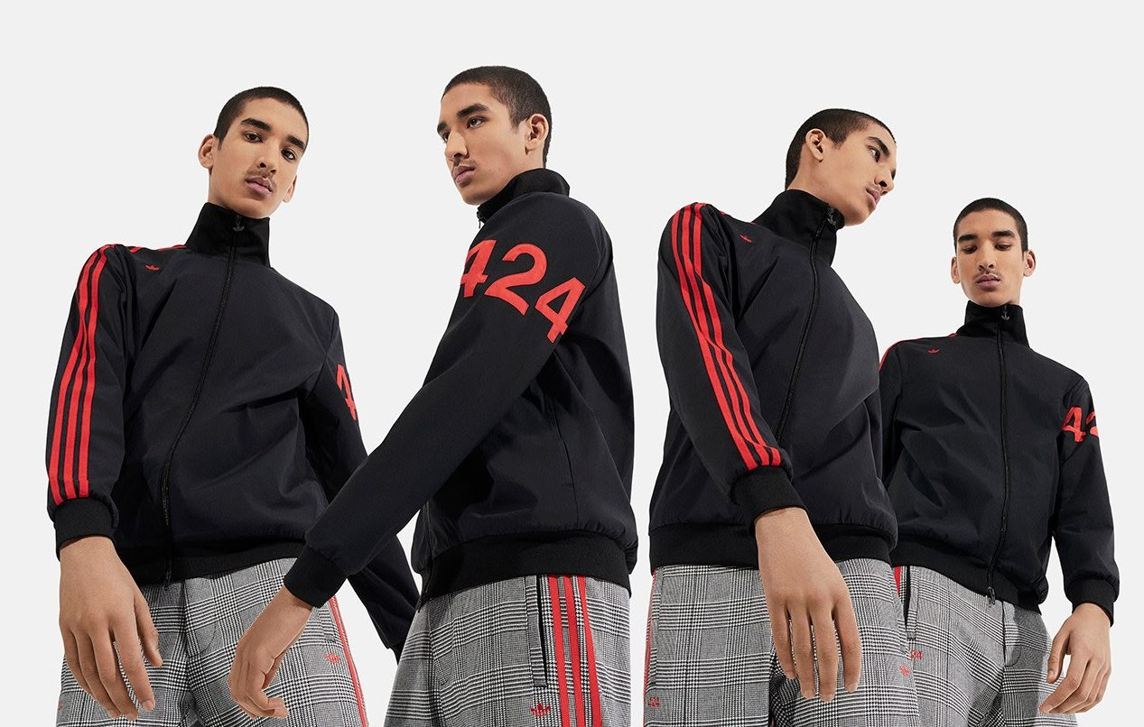 424 x Adidas Blurs the Three Lines Between Formal & Sportswear