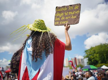 May 1 Protests Wage on in Puerto Rico, With a Cautious Twist