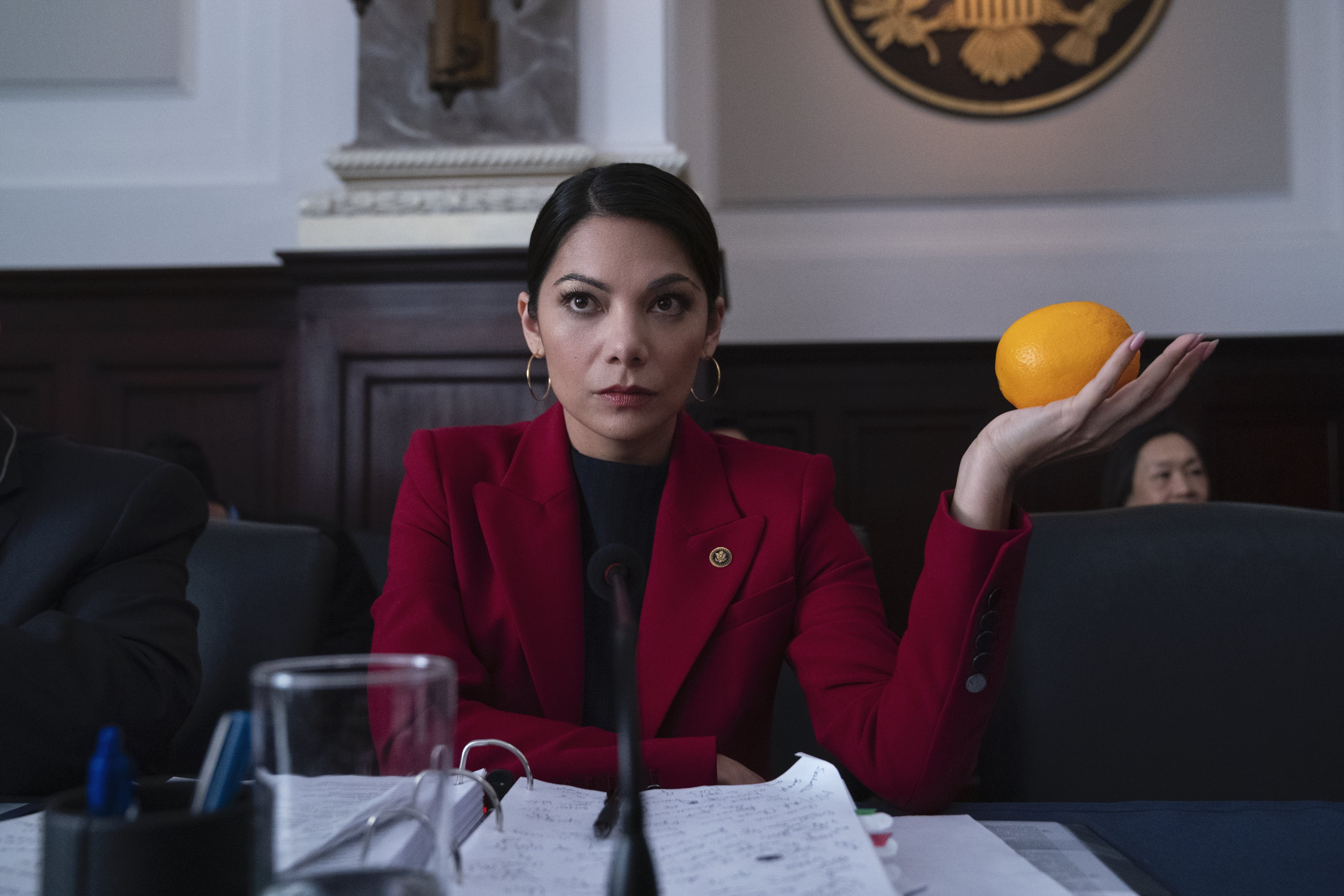 Netflix Comedy 'Space Force' Has Its Own AOC Character Calling out Government Spending