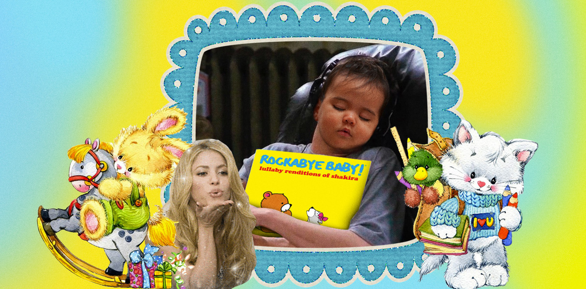 Shakira's Biggest Hits are Getting Turned Into Lullabies