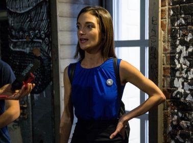 Democratic Socialist Julia Salazar Is Reelected as Senator in Brooklyn
