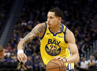 Golden State Warriors' Juan Toscano-Anderson Lead a 'Walking in Unity' Protest