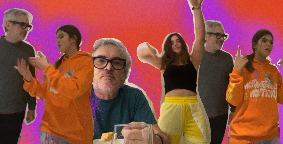 Alfonso Cuarón's Cameos in his Daughter's TikTok Videos Will Brighten Your Day
