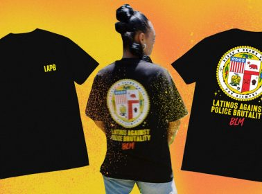"Ugly Primo Releases ""Latinos Against Police Brutality"" T-Shirt To Benefit National Lawyers Guild"