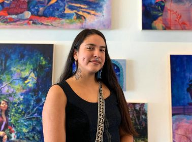 Meet Emilia Cruz, the Painter Behind Ana's Art on 'Gentefied'