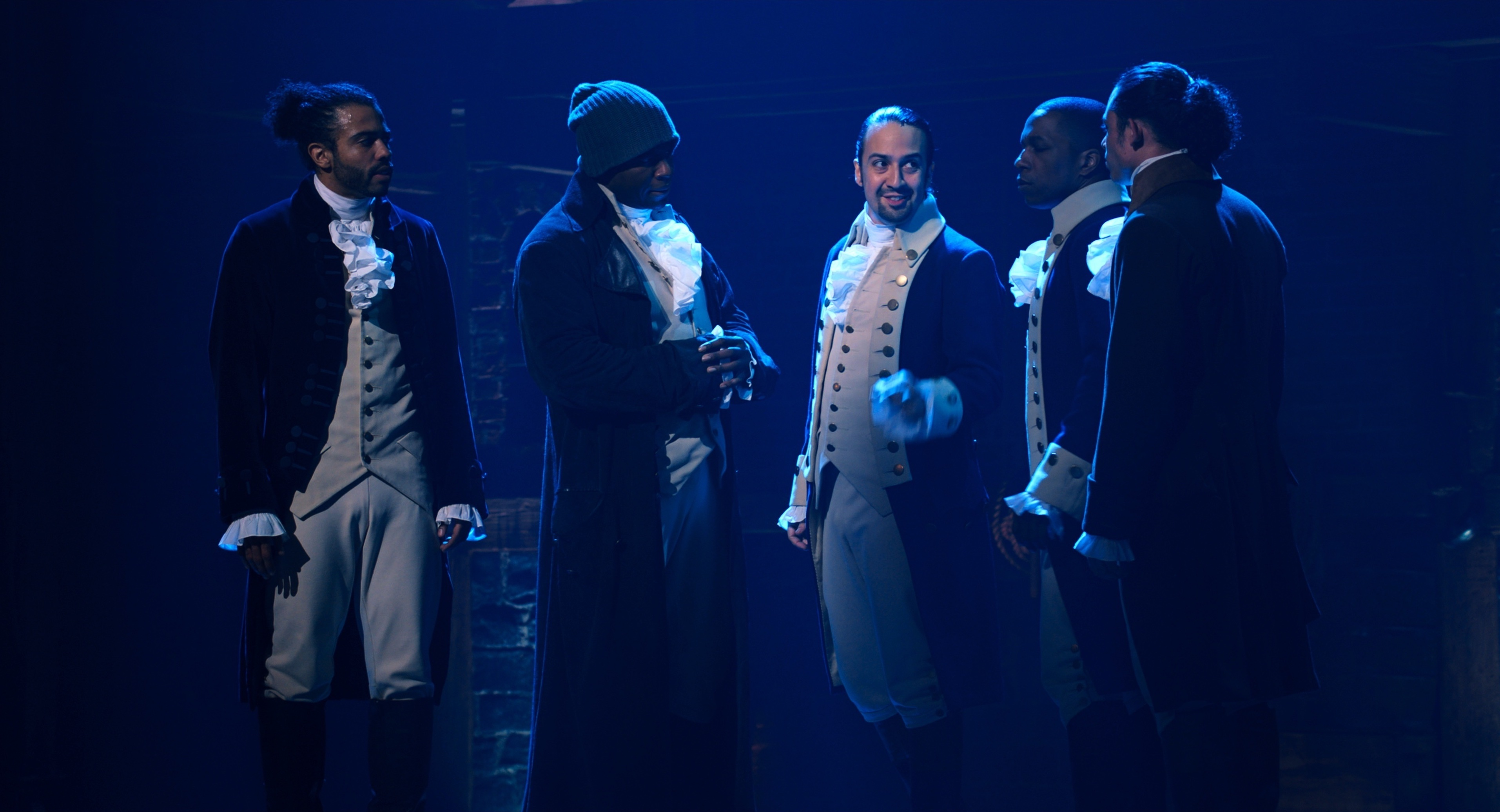 'Hamilton's Broadway Cast Prepare for Their Biggest Audience Yet