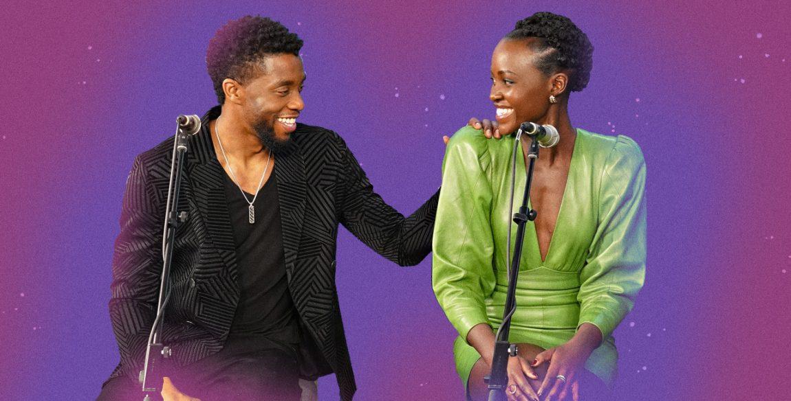 Lupita Nyong'o pays tribute to 'ageless' Chadwick Boseman