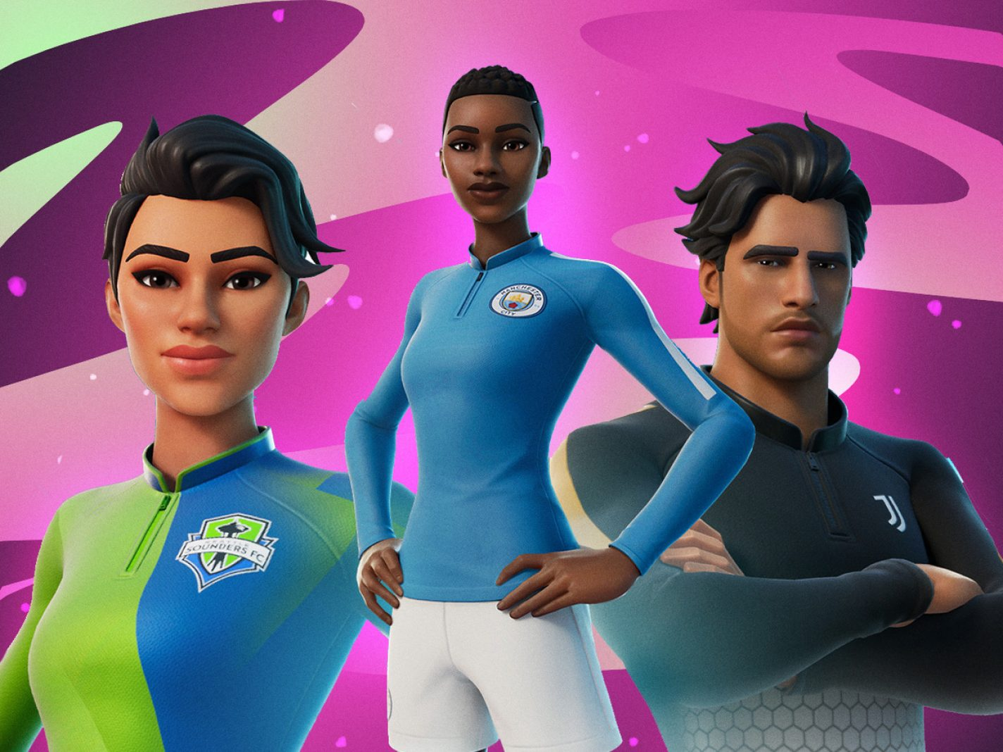 Fortnite Brings Soccer Clubs & Pelé Out to Play